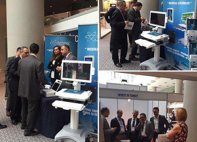 We were at the HIMSS Turkey EMRAM Education Conference and Health Informatics Expo